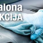 Auto salona dezinfekcija